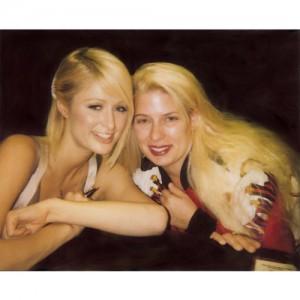 Paris Hilton and Deborah Burlet Massage Therapist