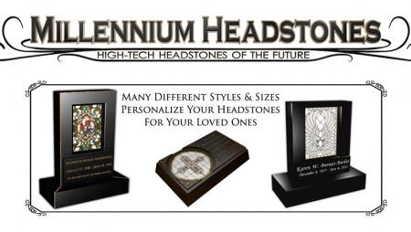 Millennium Headstones Hi-Tech Marker Manufacturer