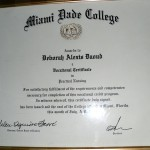 Deborah A. Daoud Miami Dade College Pratical Nursing Degree