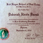 Deborah A. Daoud - Bob Hogue School of Real Estate, Real Estate Diploma